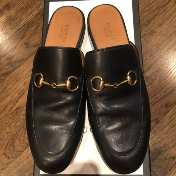 Gucci Princetown Loafer Mule Black